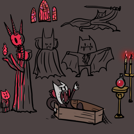 vampire brainstorm